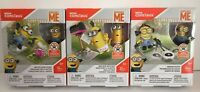 3 Mega Construx Despicable Me Minion Building Sets DYD33-DYD34-DYD35 New Sealed