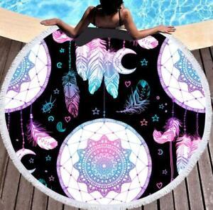 3D Traum Feder M3514 Sommer Plüsch Fleece Decke Picknick Strand Handtuch Fay