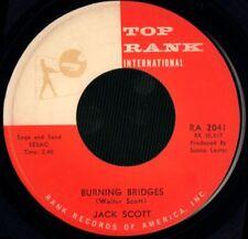 "Jack Scott(7"" Vinyl)Burning Bridges/ Oh, Little one-Top Rank Internatio-VG/VG+"