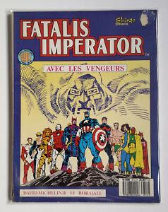 Rare Vintage 1987 FATALIS IMPERATOR Comic   French LUG Edition Marvel   Avengers