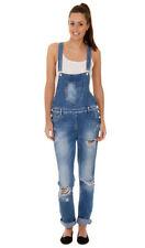 Jeans salopettes pour femme