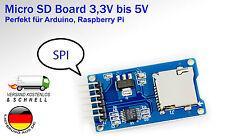 Micro SD MicroSD breakout board SPI für Arduino Raspberry Pi Mikrocontroller
