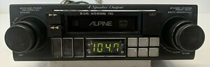ALPINE 7163 Cassette Player Deck Old School *Tested Fully*