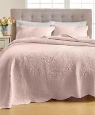 Martha Stewart Stenciled Leaves 100% Cotton Standard Sham Medium Pink $60