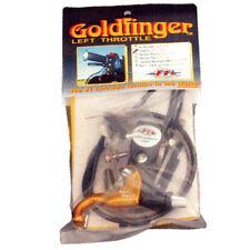 Snowmobile Left Hand Throttle Gold Finger Skidoo 2001-06, 2009-15, ETEC Models