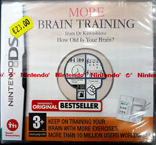 MORE BRAIN TRAINING FROM DR KAWASHIMAM  NINTENDO DS -PAL-