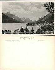 Waterton Lakes Alberta Canada Vintage Rppc Real Photo Postcard
