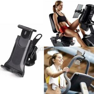"""360° Tablet Bike Mount For 7-12"""" Phone Holder Bicycle Handlebar Exercise Stand"""
