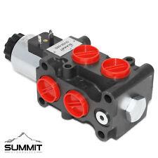 Válvula de Solenoide Selector/Desviador hidráulico, 13 GPM, 12 V DC, #8 puertos SAE