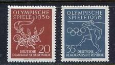 31251) DDR 1956 MNH**Olympic Games at Melbourne 2v.