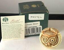 Vtg Harmony Kingdom Hardbody Roly Poly Mostel the Owl Tjrpow Mib