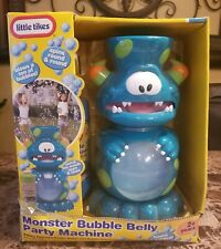 "New Vintage Little Tikes ""Party Marty"" Monster Bubble Belly Party Machine"