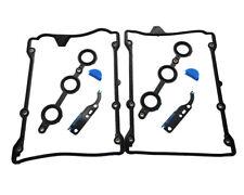 New 2 Sets For Audi Volkswagen Passat Valve Cover Gaskets w/ Cam Chain Gasket