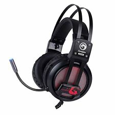 Marvo HG9028 Gaming Headset Kopfhörer surround Mikrofon Over-Ear USB-Kabel 2.2m