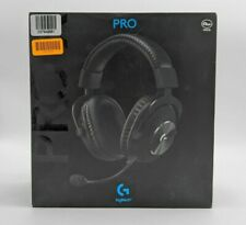 New Logitech G Pro X Gaming Headset with Blue VOICE Technology -SB2096