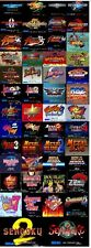 FR-SNK NEO GEO X CARD SET VOL1 50 GAMES FIRMWARE 3.70 NEW