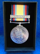 More details for gulf full size medal + 16 jan to 28 feb 1991 clasp & ribbon + box, reproduction
