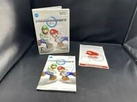 NINTENDO WII REPLACEMENT CASE & MANUAL ONLY MARIO KART