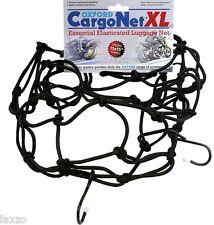 Oxford OF177 XL rete di carico moto Nero Posteriore Carrier Corda Elastica Cinghia Elastica