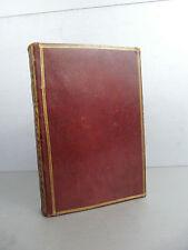 Palingene Zodiaque de la vie Zodiacus Vitae Plein maroquin rouge époque 1722 Ast