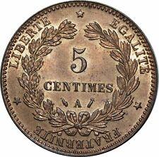 O302 Rare 5 Centimes Cérès 1886 A Paris FDC !!! > Faire offre