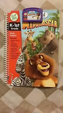Leap Frog LeapPad K-1ST Madagascar Interactive Book and Cartridge