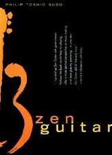 Zen Guitar, Sudo, Philip Toshio, Good Condition, Book