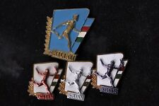 Hungary Hungarian Badge Lot Gyorgy Kilian Army Camp Silver Sport Soldier Set
