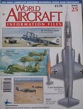 World Aircraft Information Files Issue 25 Lockheed F-104 Starfighter cutaway