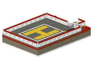 Bauanleitung instruction Feuerwehrwache Landeplatz Eigenbau Moc aus Lego Basic