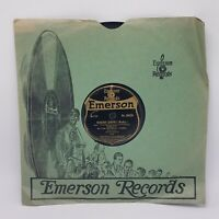 Emerson Military Band You'd Be Surprised / Nobody Knows Emerson 10120 VG+ 78 RPM