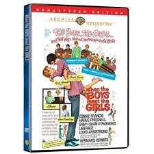 WHEN THE BOYS MEET THE GIRLS. Connie Francis. Region free. New DVD.