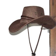Cowboy Hat Rack - Hat Saver/Hanger Holder Hook Riding Helmet Wall Mount - Metal