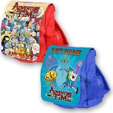Personalised ADVENTURE TIME school bag kids childrens backpack rucksack nursery