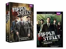 Ripper Street - Collection - Complete Series 1 + 2 + 3 + 4 (12 DVD Box Set)