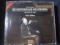 Die Meistersinger Von Nurnberg Bayreuth 1968 [Audio CD] Wagner, R.; Karl Bohm;..