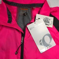 Pearl Izumi Womens Elite Barrier Vest Water Resistant Screaming Pink Black Large