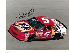Autographed Ricky Rudd NASCAR Auto Racing Photograph