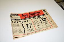 1956 St Louis MO Stix Baer & Fuller Sale Newspaper Insert Catalog