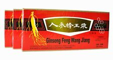 3 Boxes Ginseng Royal Jelly Oral Liquid 3 x 10 Vials improve Stamina & Memory