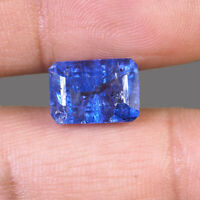 NATURAL Tanzanite 6.95 Cts Gleaming Blue Top Quality Huge Certified Gemstone