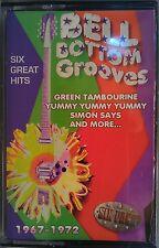 Bell Bottom Grooves (Cassette, 1997) Various Artists [6-pack of hits] '67-72 LN.