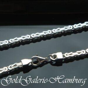Königskette echtem 925 er Silber 3,2 mm 50 cm Kette, Silberkette