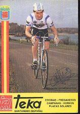 MODESTO URRUTIBEAZCOA cyclisme ciclismo cp Signée TEKA autografo Cycling rider