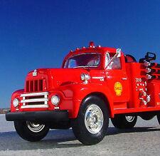 RARE - SHELL OIL DEER PARK TEXAS REFINERY - 1957 IH R200 FIRETRUCK - First Gear