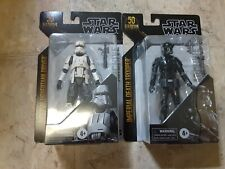 Star Wars The Black Series Archive Imperial Death Trooper & Imperial Hovertank D