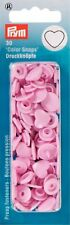 BOTTONI A PRESSIONE a Cuore 30pz Rosa Prym Color Snaps 393318