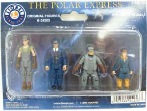 Lionel 6-24203 O Polar Express Original Figures (Set of 4)