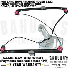 WINDOW REGULATOR- FOR LAND ROVER RANGE ROVER L322 MK3 2002-2012 FRONT RIGHT SIDE