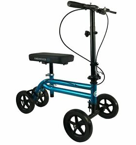 KneeRover Steerable Economy Knee Scooter with Dual Braking System NEW FREESHIP